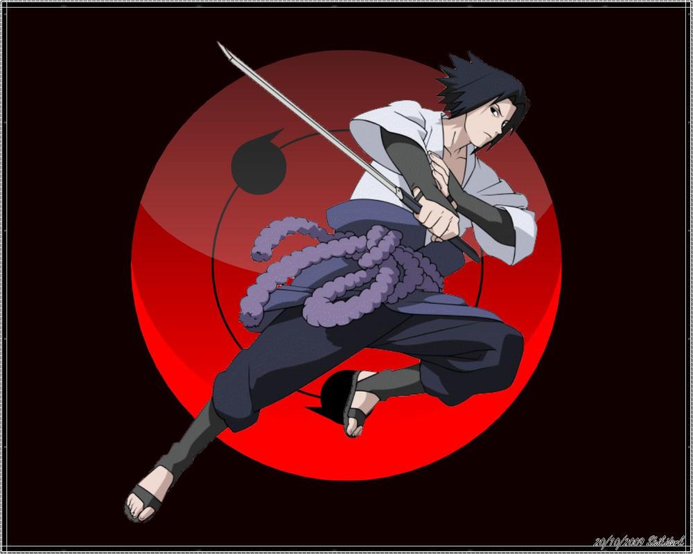 Wallpaper Sasuke Shippuden By Shikidark On DeviantArt