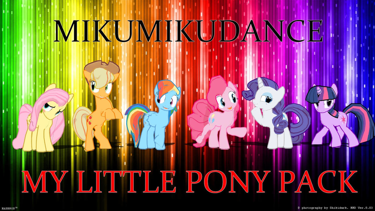 how to say my little pony in french