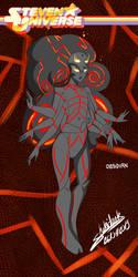 Steven Universe - Obsidian by Shikidark