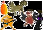 moar spooky cats by magic-pistachio