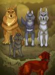 Wolf Warriors AU meeting Rusty