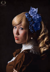 Lolita with a Pearl Earring by deerstalkerpictures