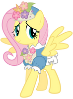 Fluttershy without background2 by Mihaaaa