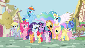 mane 6 plus 6 plus bg by Mihaaaa