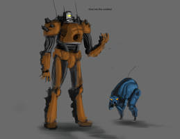 Robotz by EmmanuelMadailArt