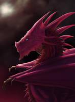 Crimson Dragon by EmmanuelMadailArt