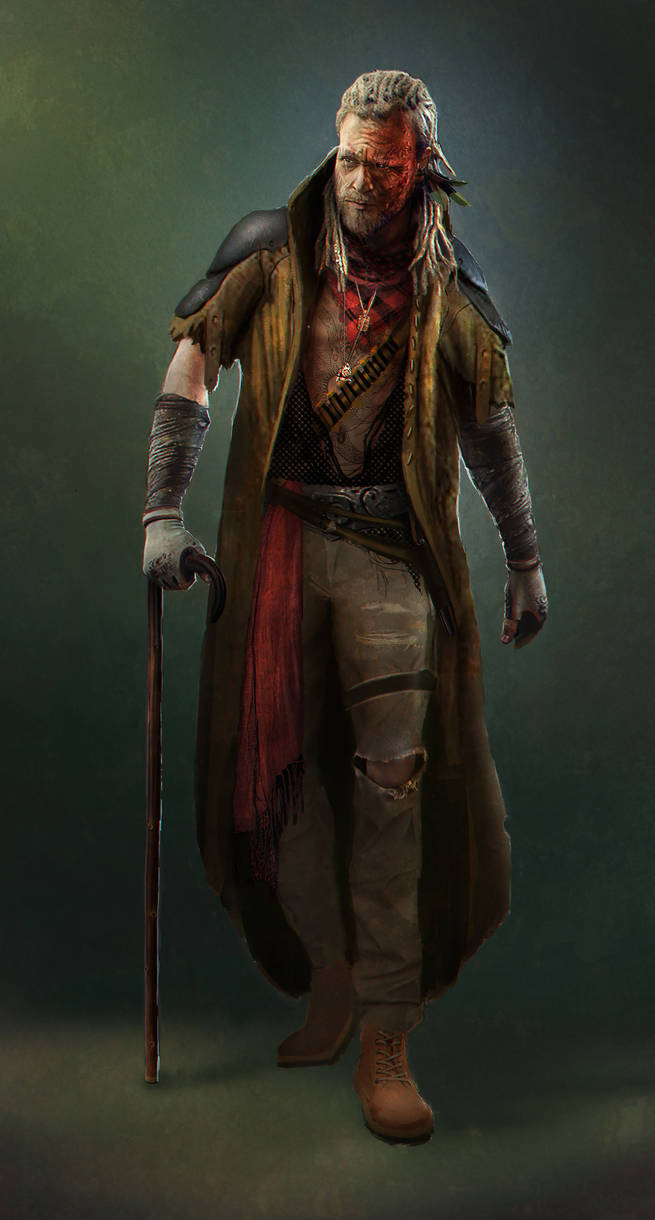 Pirate Leader by EmmanuelMadailArt