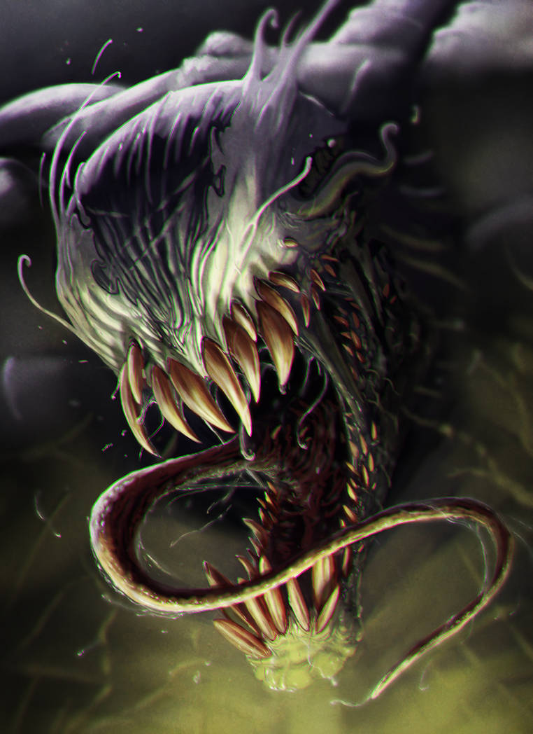 Venom by EmmanuelMadailArt