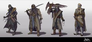 Kacha - Warriors of Tarta by EmmanuelMadailArt