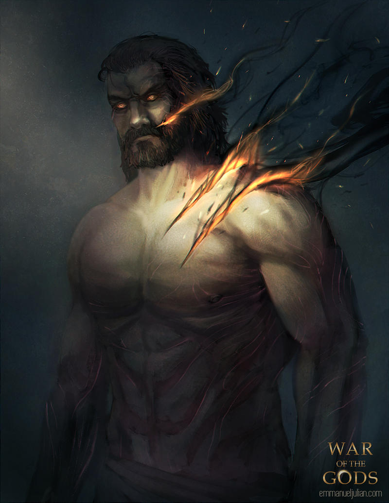 WAR OF THE GODS - Ares by EmmanuelMadailArt