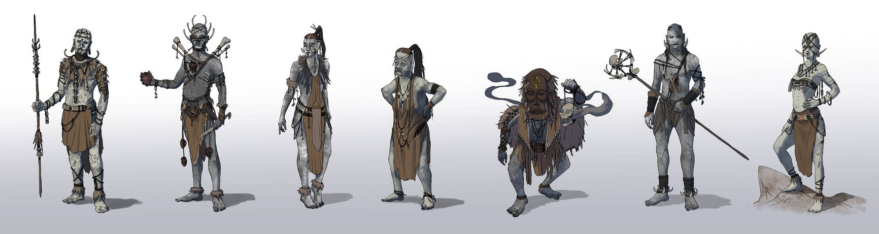 Kacha - Laba Tribe by EmmanuelMadailArt