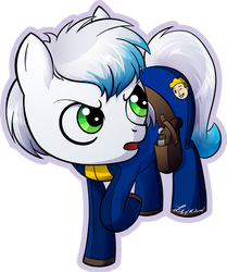 Skyler Dustpaw Fallout Equestria Commission