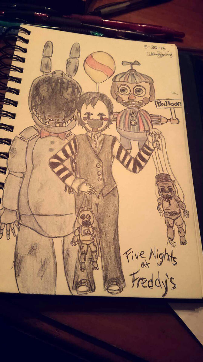 Five Nights At Freddy's by Grelll