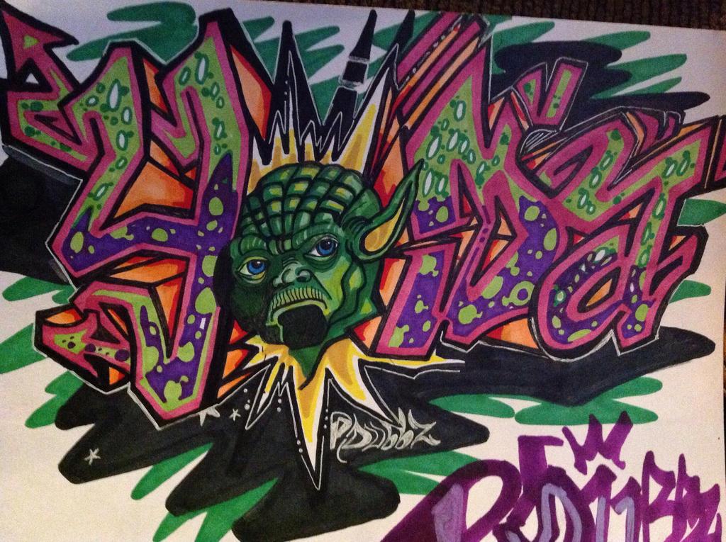 Yoda by PDubbz
