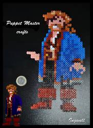 Guybrush smiling (pixel art)