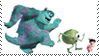 Monsters Inc. (Disney-Pixars) stamp