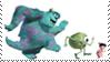 Monsters Inc. (Disney-Pixars) stamp