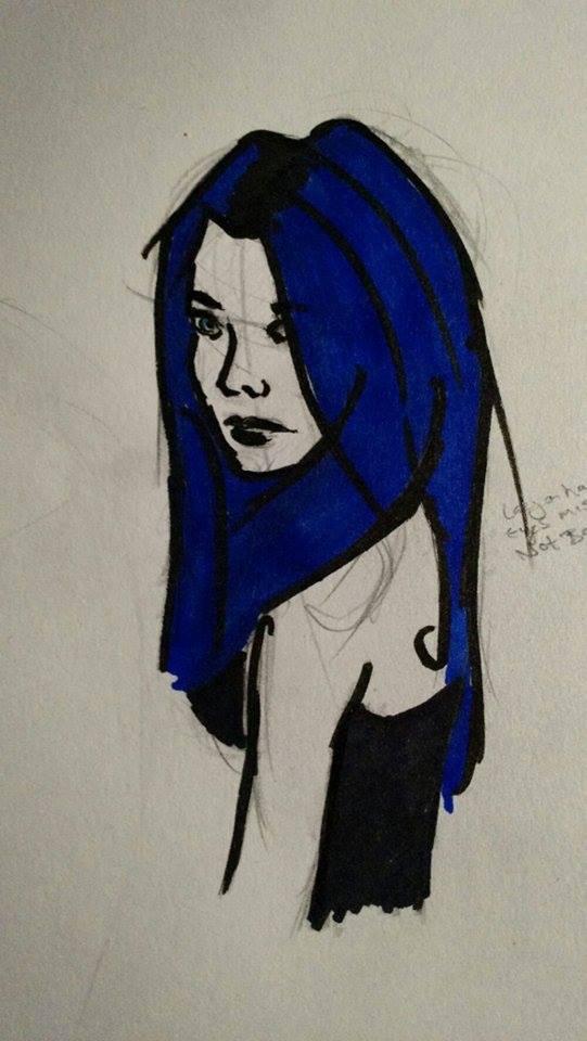 Blue Hair by smokymcp28