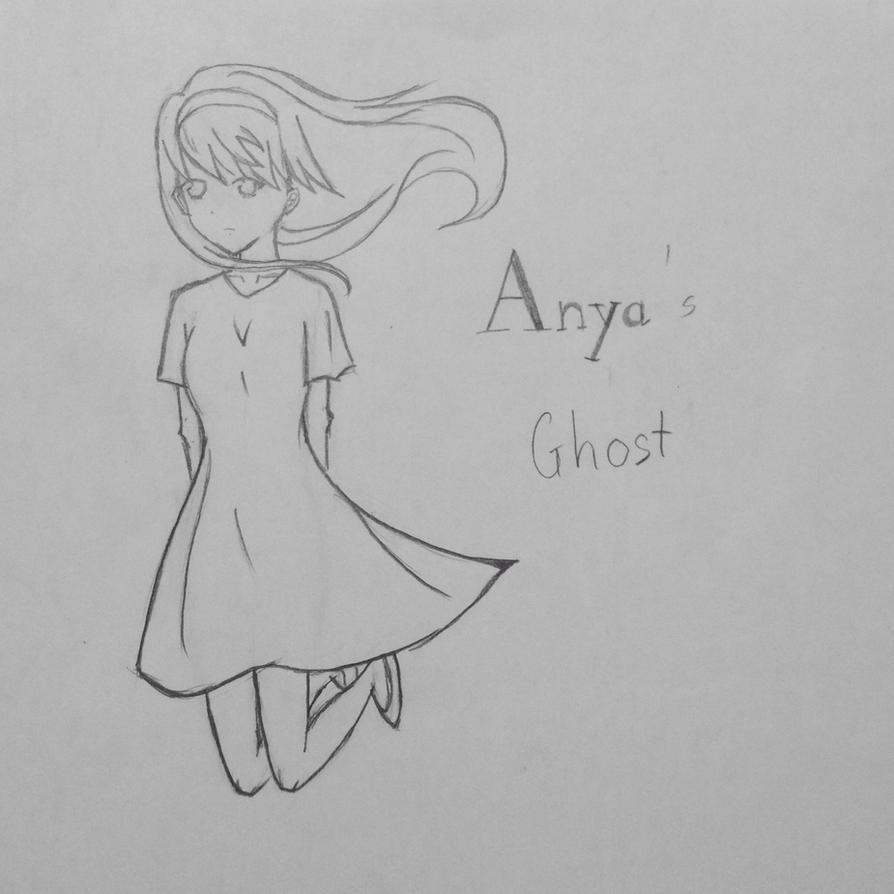 [Anya's Ghost] Emily fanart by HakuOtonashi