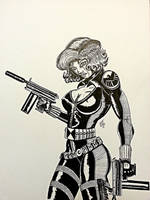 black widow 2 ink by SSJBROLY