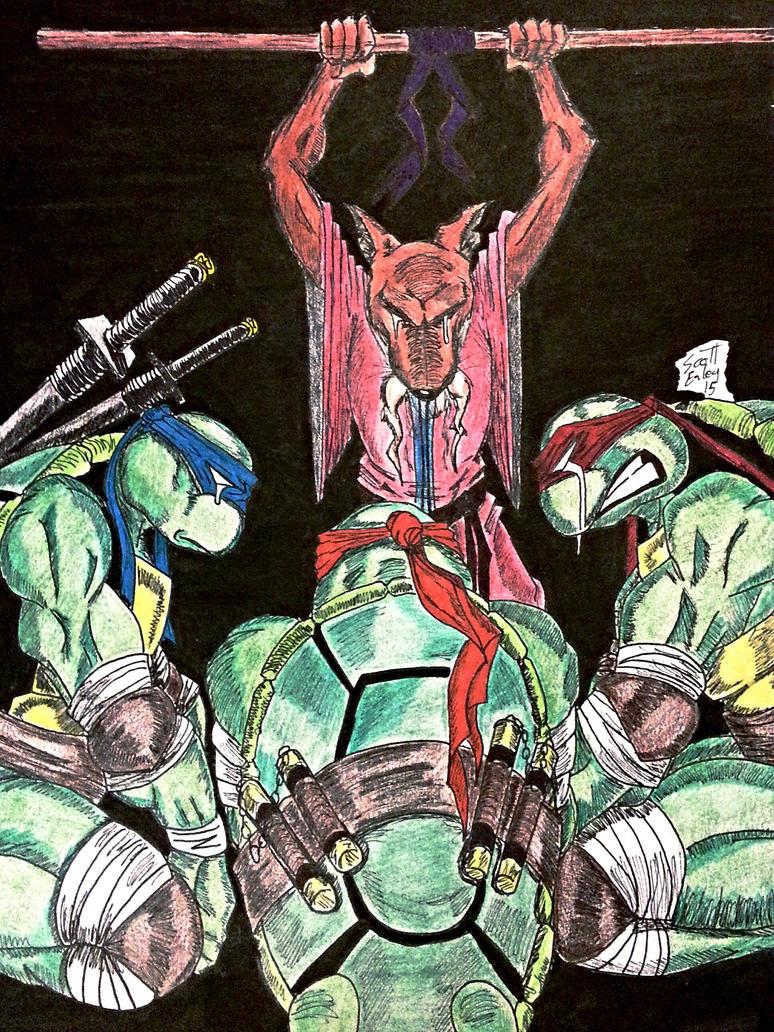 Donatello Tmnt Comic Death