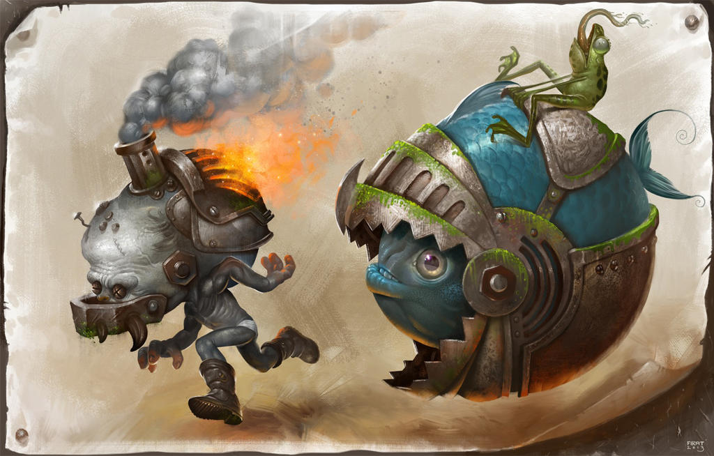 SteamWeird by firatsolhan