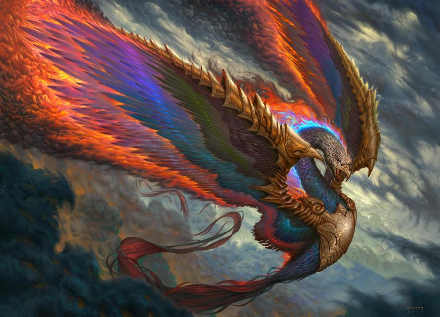 Huma Bird by firatsolhan