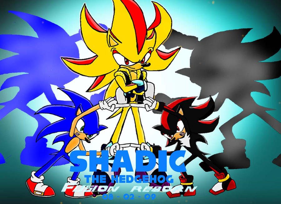 Shadic the Hedgehog by gamefreak2008 on DeviantArt