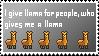 Llama by SweetCreeper132PL