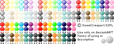 80 Emote Base Colour Pack by SweetCreeper132PL