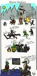 Skyrim Madness mini Comic by kayly101