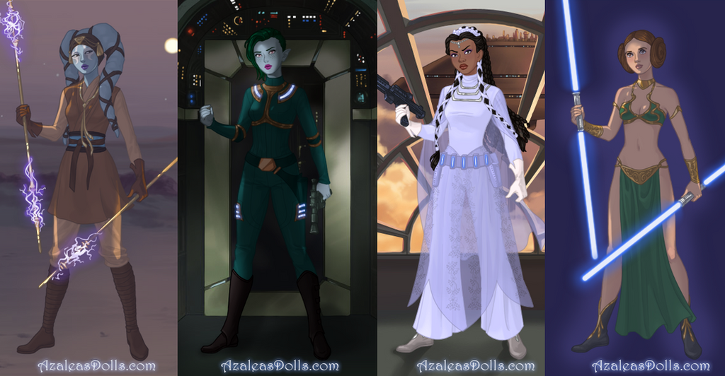 Sci Fi Warrior Dress Up Game By AzaleasDolls On DeviantArt