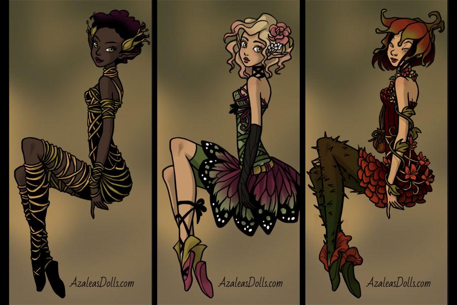 Pretty Pixie clothes (dress up game teaser) by AzaleasDolls