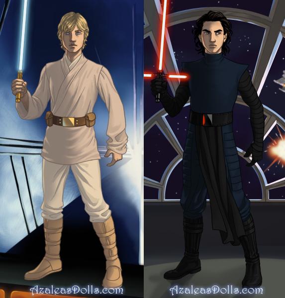 Sci-fi Warrior (boys): Preview by AzaleasDolls