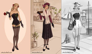 40s Fashion (dress up game)