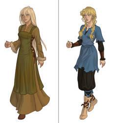 Viking chick (next dress up game) by AzaleasDolls