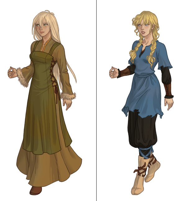 Character Design Dress Up Game : Viking chick next dress up game by azaleasdolls on