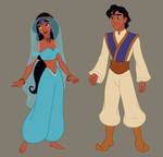 Arabian Nights collab (upcoming dress up game)