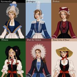 French Folklore Dress up by AzaleasDolls