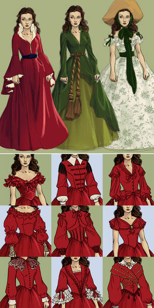 Next dress up game game: Southern Belle