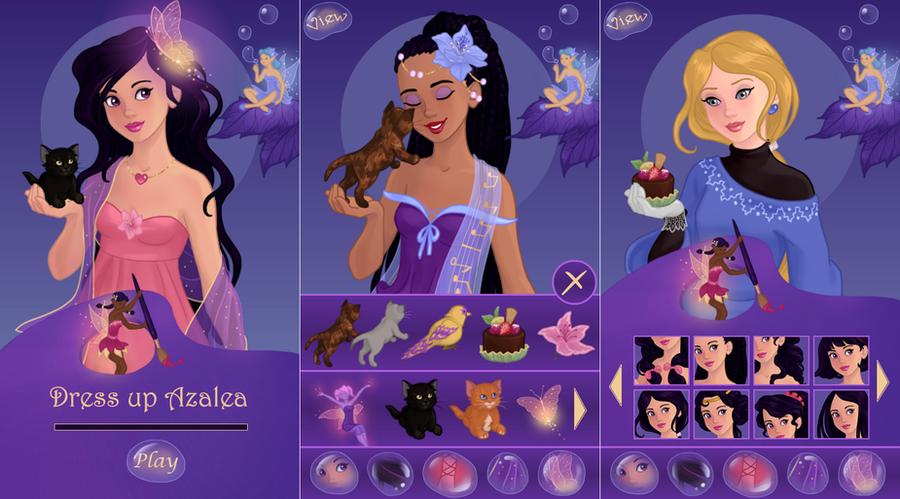 New: Azalea app by AzaleasDolls