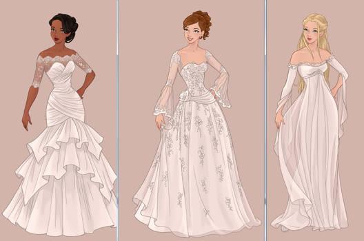 Progress for Wedding Dress