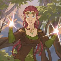 New dress up game: Magical Elf by AzaleasDolls