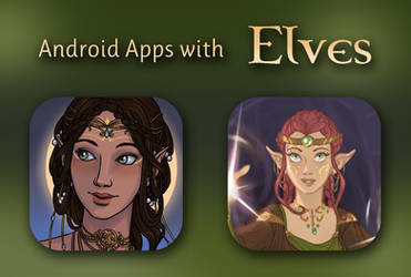 Android Apps with Elves! by AzaleasDolls