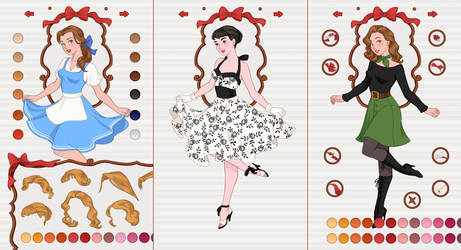 New App: Pin-up Princess Dress up