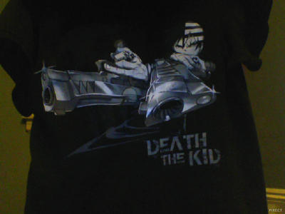 Death the kid shirt by Deaththekid1388