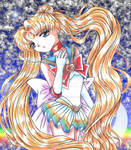 Sailor Moon Thinking about Future by Eos-of-Dawn