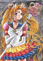 Eternal Sailor Moon Ready for a Battle