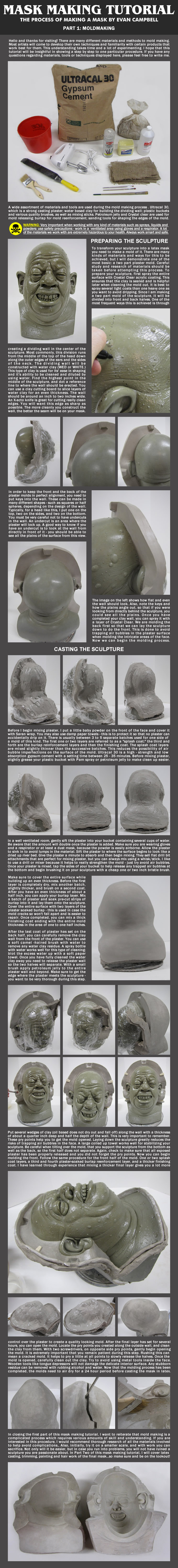 Mask Making Tutorial: Part 1 by EvanCampbell