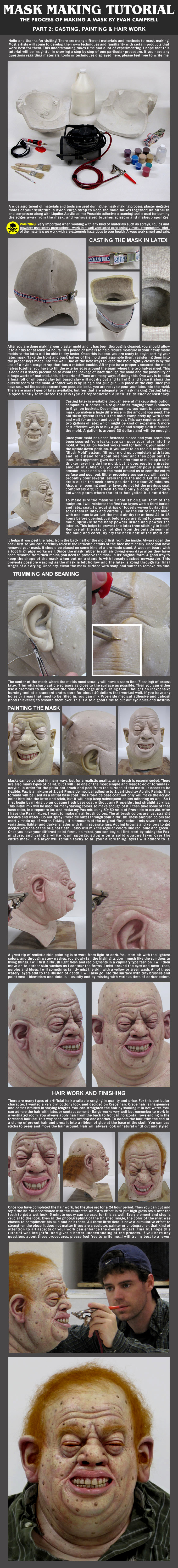 Mask Making Tutorial: Part 2 by EvanCampbell